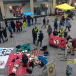 AfD Stand in Jena gestört